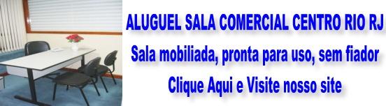 Sala mobiliada centro Rio RJ